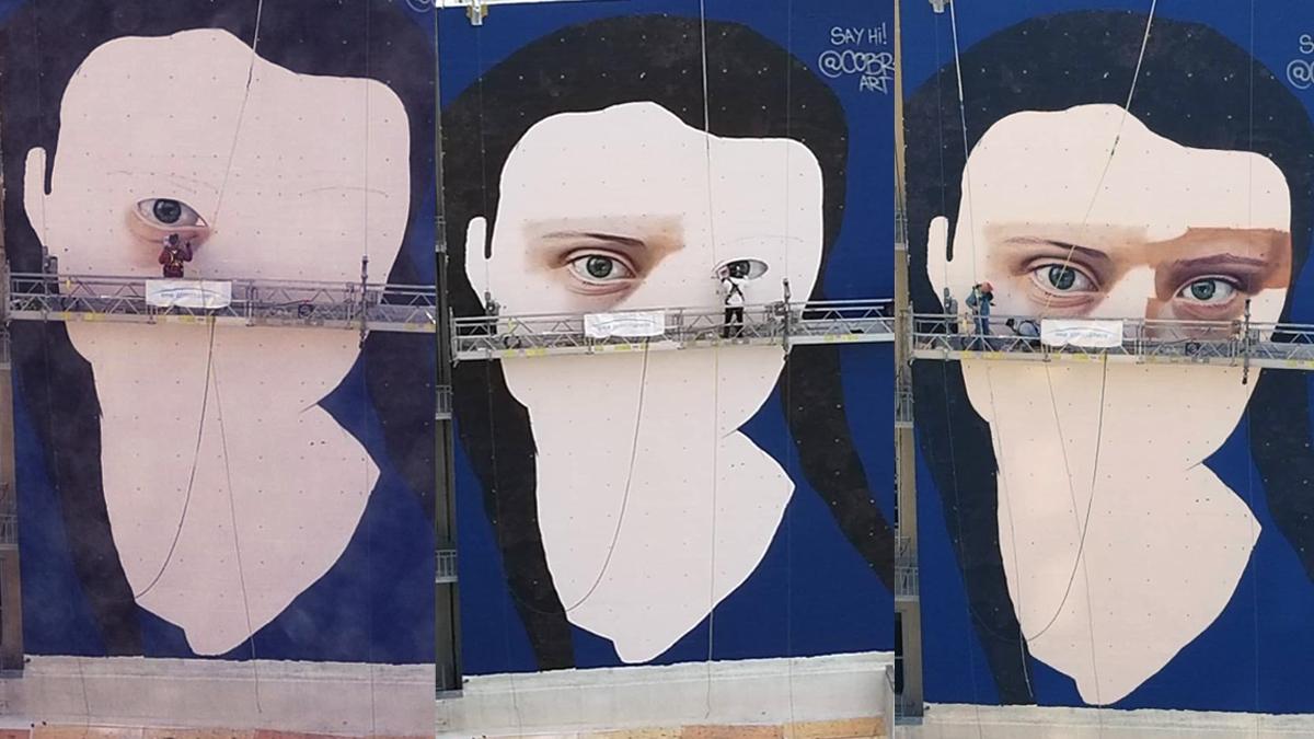 La historia detrás del mural de Greta Thunberg en San Francisco - Radio Cantilo