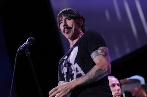 Anthony Kiedis llegó a los 57