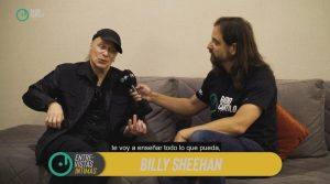 Billy Sheehan a solas con el Gallo