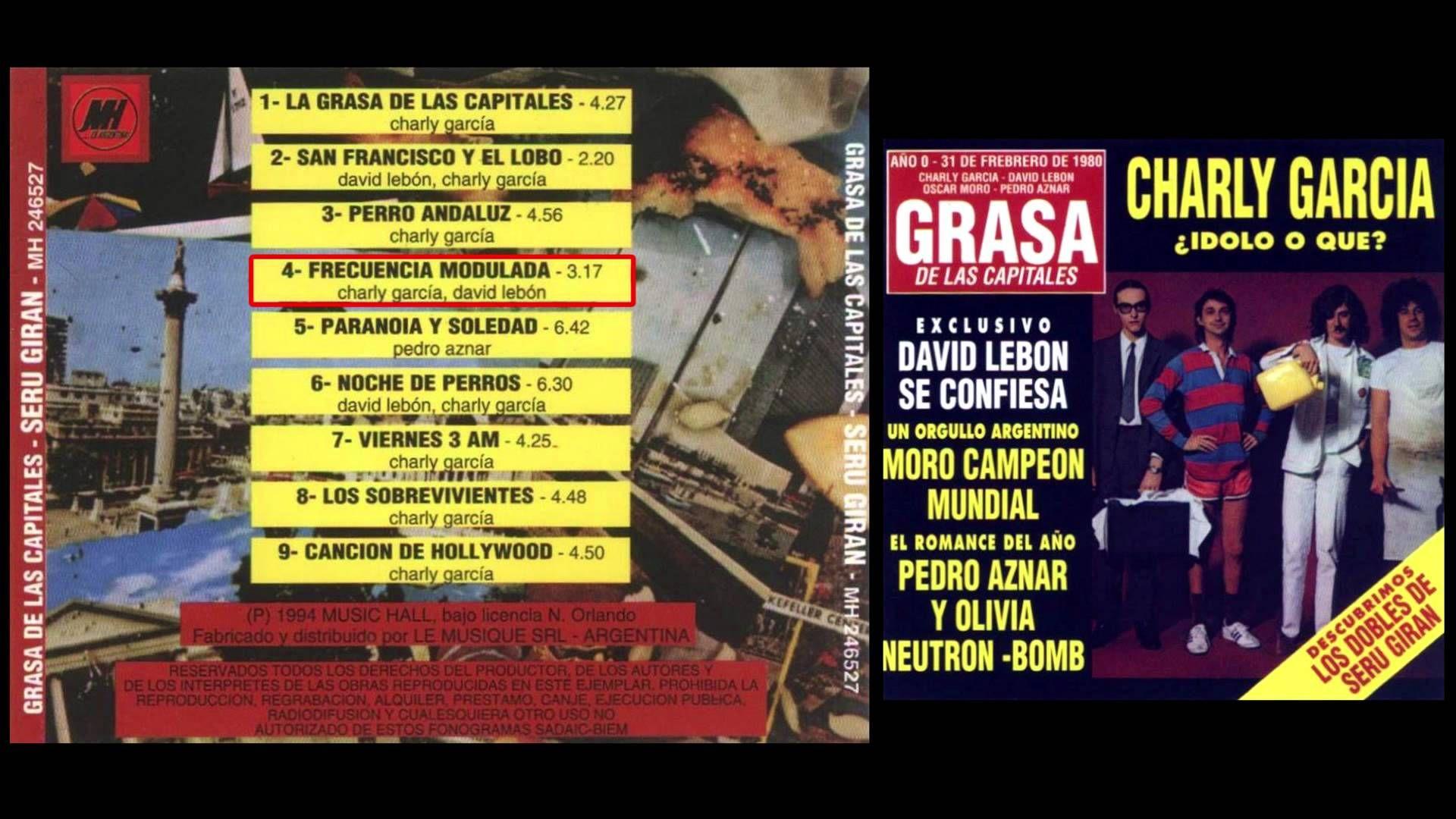 """Análisis: """"La Grasa de las Capitales"""", 40 años después - Radio Cantilo"""