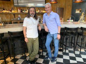 Adrián Dárgelos visitó Radio Cantilo y estuvo mano a mano con Juan Di Natale
