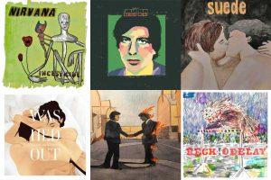 """Conocé """"El Disco del Día"""", la cuenta de Instagram con portadas ilustradas"""