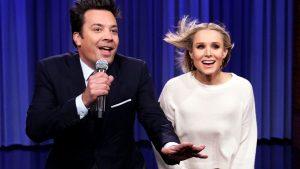 Jimmy Fallon y Kristen Bell cantaron clásicos de Disney