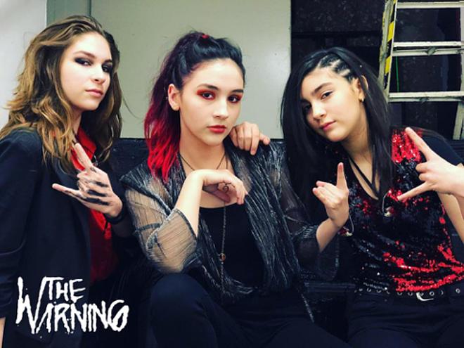 """The Warning: """"Es un honor hacer el Trío Tour con Eruca Sativa"""" - Radio Cantilo"""