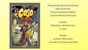 """""""El Coso del Rock"""", un libro que acerca la escena under"""