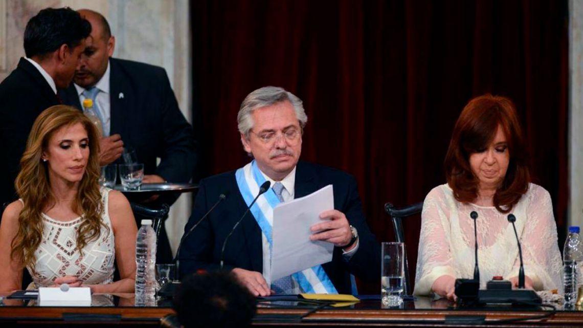 Las más de diez medidas que anunció Alberto Fernández en su asunción - Radio Cantilo