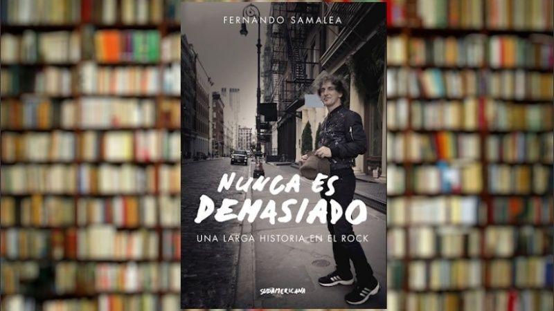 """Fernando Samalea habla de """"Nunca es Demasiado"""", el cierre de su trilogía autobiográfica - Radio Cantilo"""