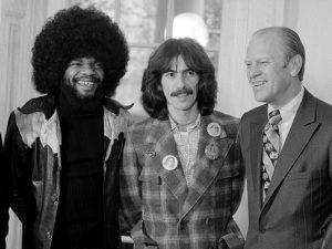 Cuando George Harrison ingresó a la Casa Blanca
