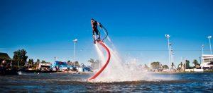Deportes veraniegos: ¿alguna vez practicaste sky flyboard?