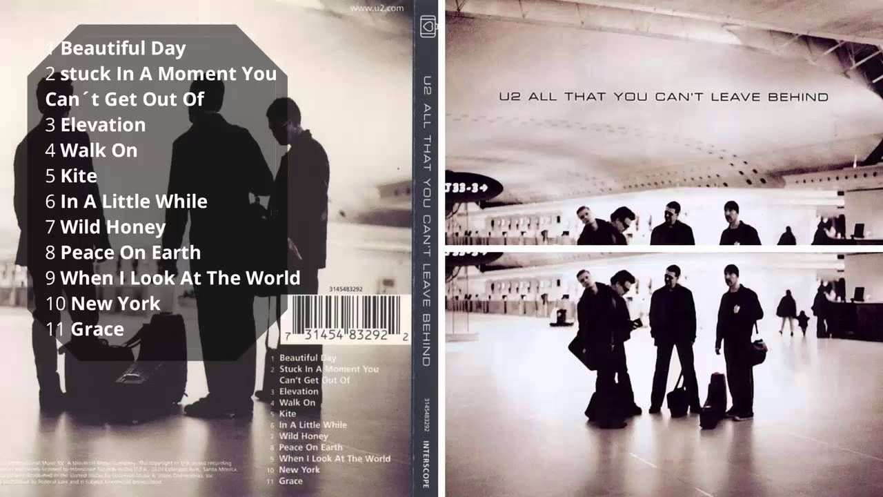"20×20: U2 y su ""All That You Can't Leave Behind"" - Radio Cantilo"