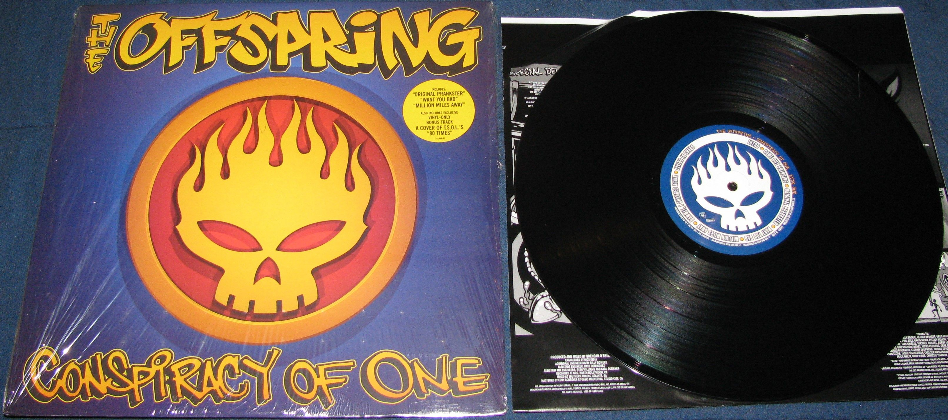 "20×20: ""Conspiracy of One"", The Offspring - Radio Cantilo"