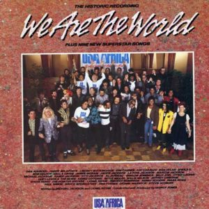 "A 35 años de la grabación de ""We Are The World"""