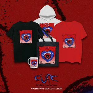 """Friday I'm In Love"", The Cure lanzó merchandising especial para el Día de los Enamorados"