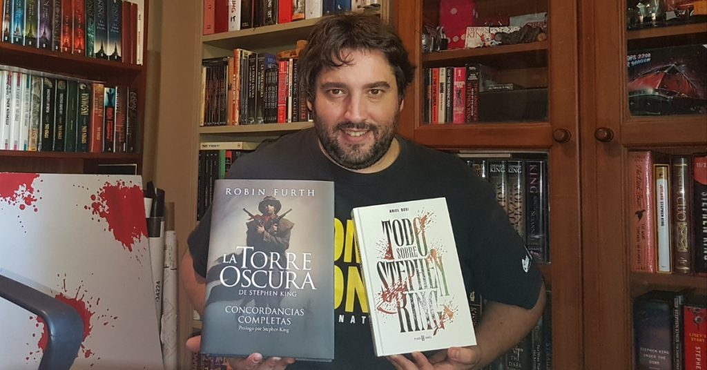 Ariel Bosi, el coleccionista de Stephen King, habló de The Outsider - Radio Cantilo