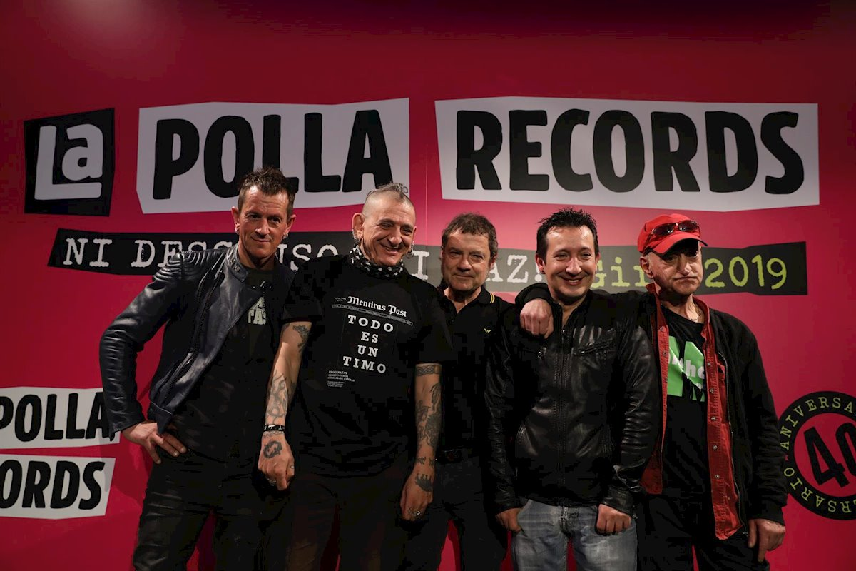 La Polla Records regresa a la Argentina - Radio Cantilo