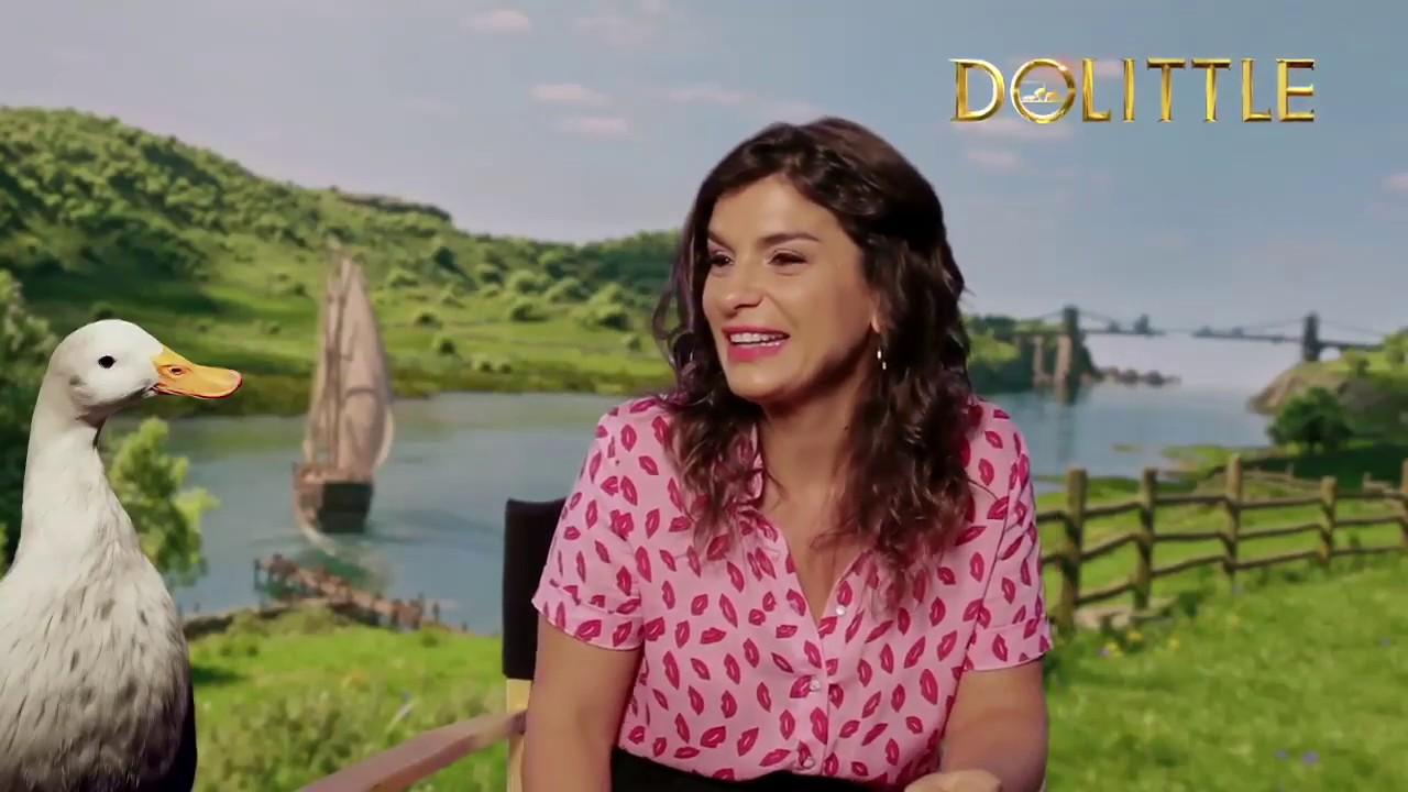 Dalia Gutmann, la voz de Dab-Dab en Dolittle - Radio Cantilo