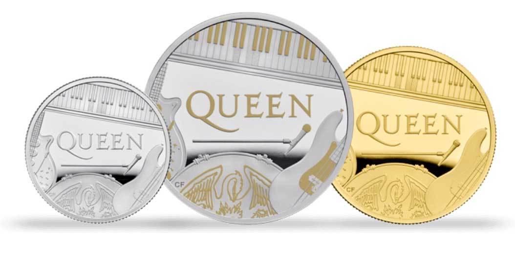 ¡Queen llegó a las monedas británicas! - Radio Cantilo
