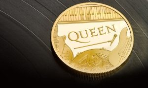 ¡Queen llegó a las monedas británicas!
