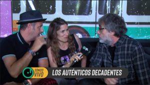 Sonido Vivo: Los Auténticos Decadentes, Juana Molina, Peces Raros y Las Pelotas se confiesan con nosotros