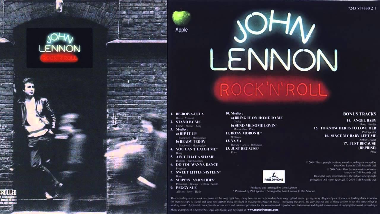 """""""Rock N' Roll"""": el disco más caótico y divertido en la carrera de Lennon - Radio Cantilo"""