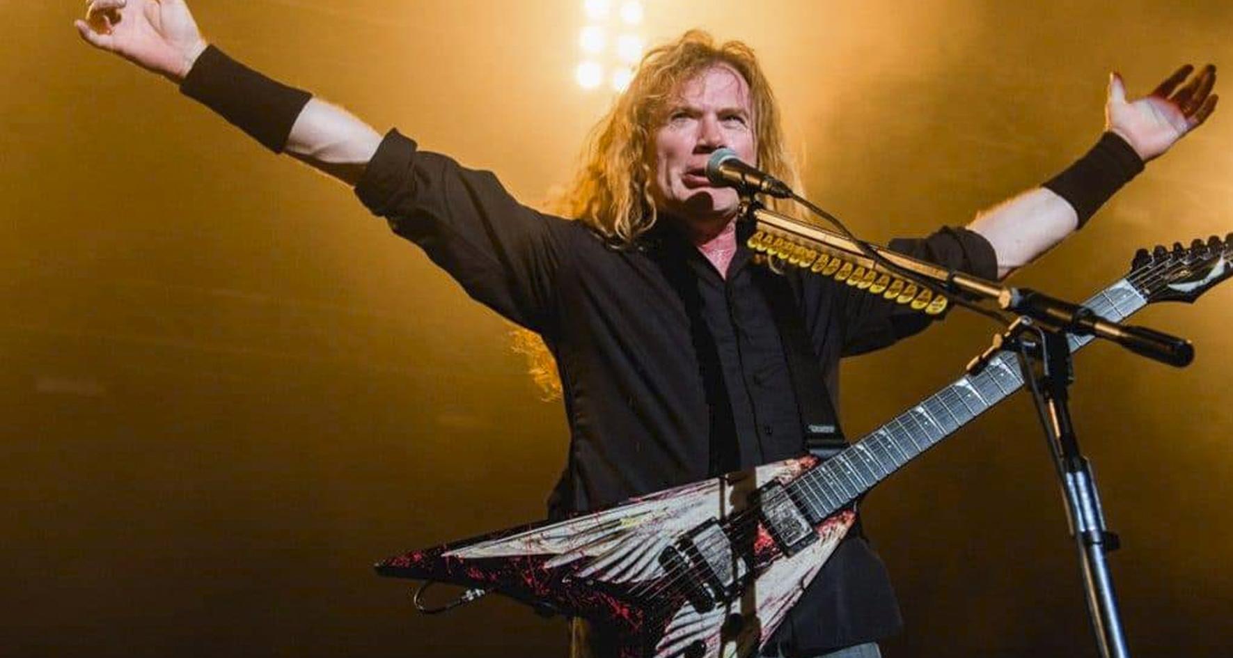 """Dave Mustaine aseguró que está """"cien por cien"""" libre de cáncer - Radio Cantilo"""