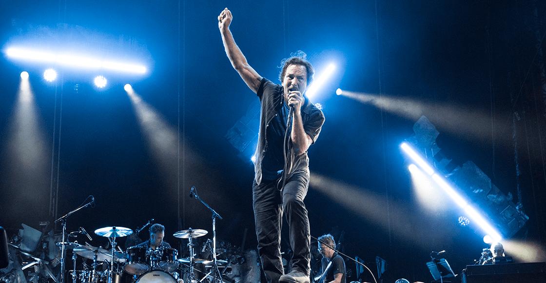 "Pearl Jam liberó nueva canción: Escuchá ""Superblood Wolfmoon"" - Radio Cantilo"