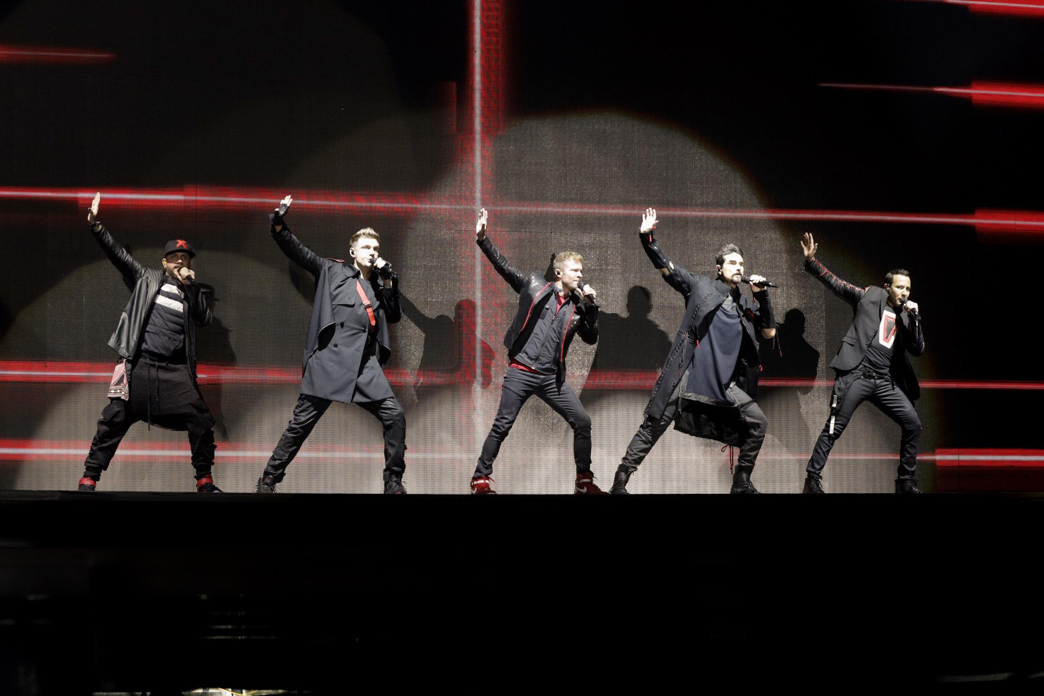 Backstreet Boys en la Argentina: el perfecto autohomenaje - Radio Cantilo