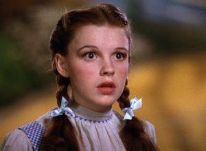 El camino de ladrillos amarillos de Judy Garland