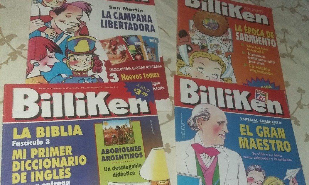 ¡La revista Billiken puso su catálogo online y gratuito! - Radio Cantilo