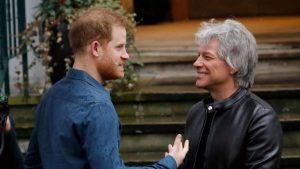 Bon Jovi y el príncipe Harry grabaron una canción juntos en los estudios Abbey Road