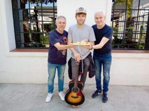 """Benjamín Amadeo: """"La columna vertebral de mis días ahora es con la música"""""""