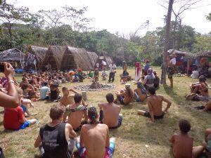 Cuarentena durante un festival en Panamá