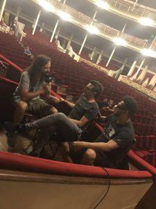 NTVG en La Plata: mano a mano con Radio Cantilo