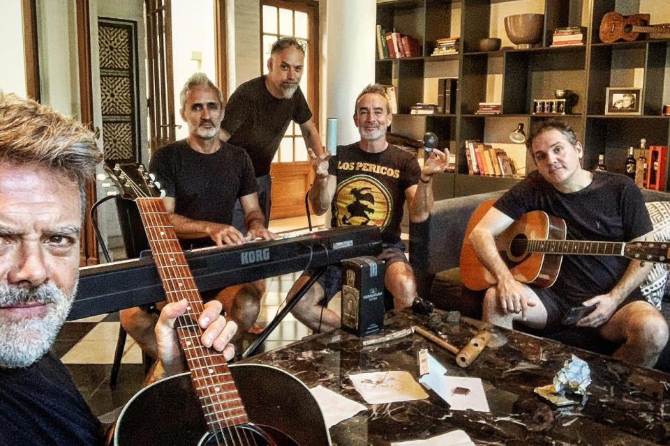 Los Pericos de cuarentena: Juanchi Baleirón te cuenta cómo lo vive la banda - Radio Cantilo