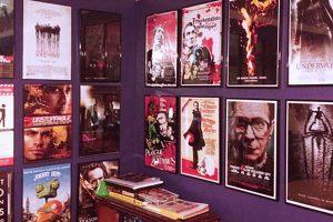 Sebastián Vivarelli y los pósters de películas