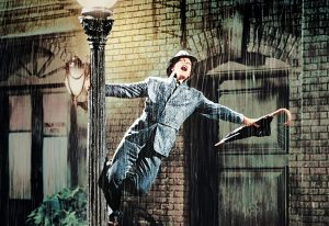 Singing in the rain: un homenaje al cine