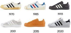 ¿Cuál es la relación entre las Adidas Superstar y los Run-D.M.C.?