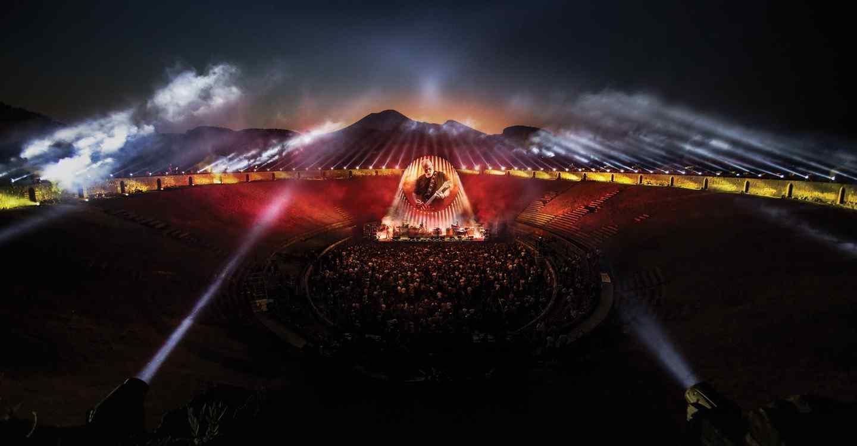 "#DiscosEnCuarentena: ""Live at Pompeii"", David Gilmour - Radio Cantilo"