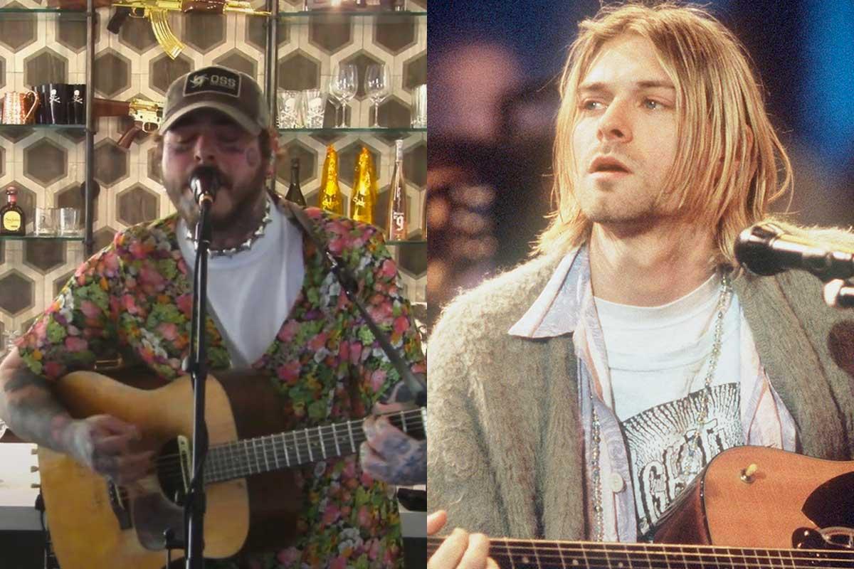 Así fue el tributo de Post Malone a Nirvana - Radio Cantilo
