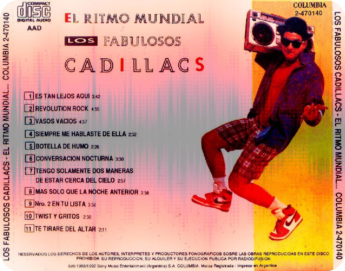 """#DiscosEnCuarentena: """"El Ritmo Mundial"""", Los Fabulosos Cadillacs - Radio Cantilo"""