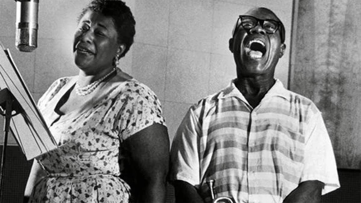 """#DiscosEnCuarentena: """"Ella and Louis"""", Ella Fitzgerald y Louis Armstrong - Radio Cantilo"""
