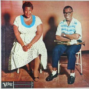 """#DiscosEnCuarentena: """"Ella and Louis"""", Ella Fitzgerald y Louis Armstrong"""