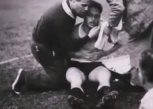 Juan Hohberg, el futbolista que murió festejando un gol y revivió para terminar el partido