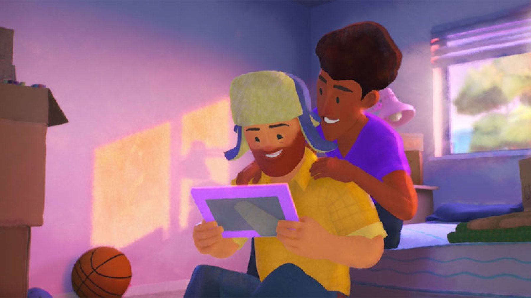 Out: Pixar estrenó su primer corto protagonizado por una pareja homosexual - Radio Cantilo