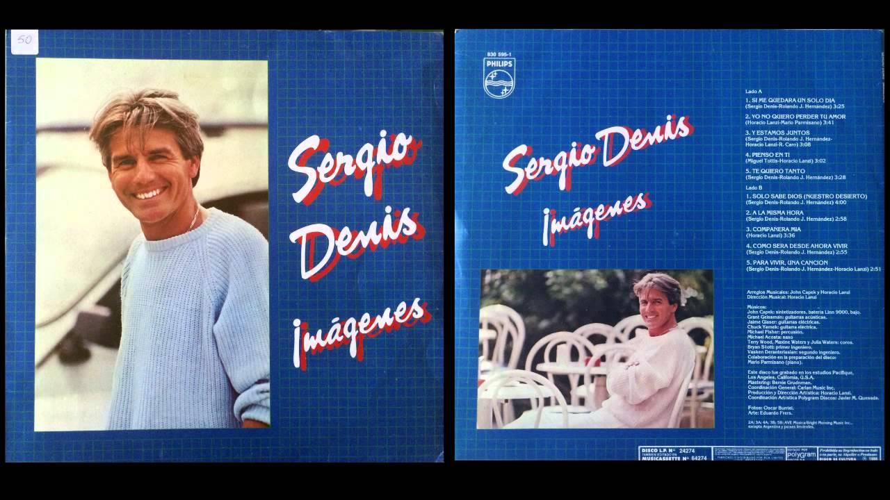 """""""Por boca de otro"""", 36 covers inolvidables que hizo Sergio Denis - Radio Cantilo"""