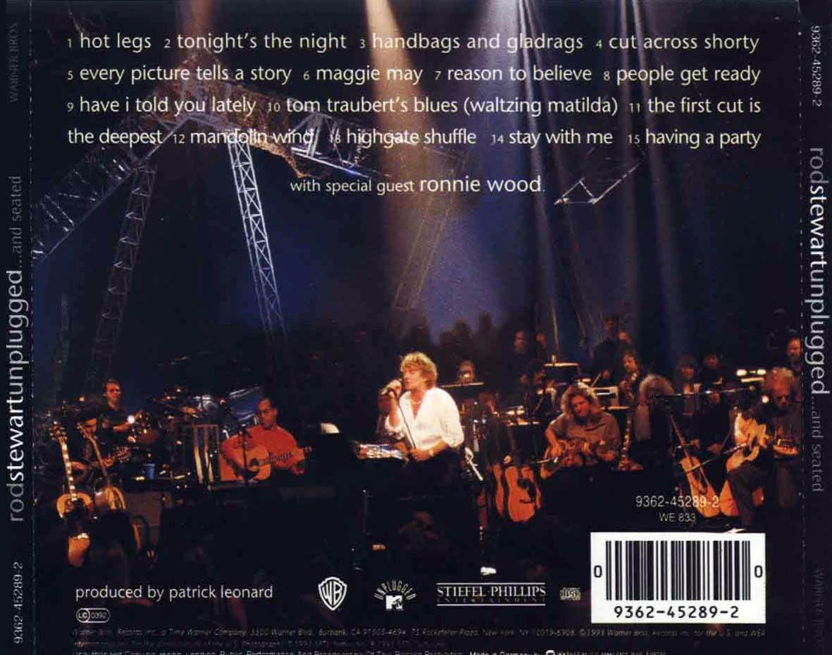 "#DiscosEnCuarentena: ""Unplugged… And Seated"", Rod Stewart - Radio Cantilo"
