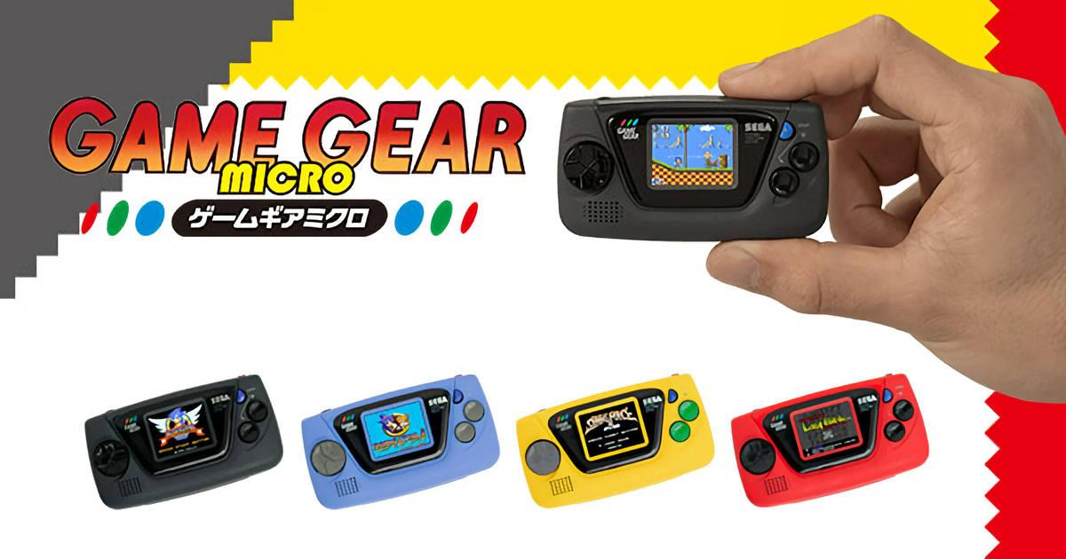 SEGA relanzó la Game Gear, aunque en un tamaño minúsculo - Radio Cantilo
