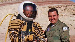 Pablo de León, el argentino que desarrolla trajes de la NASA