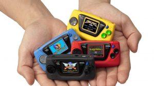 SEGA relanzó la Game Gear, aunque en un tamaño minúsculo