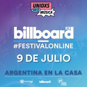 """Todo lo que tenés que saber del """"Billboard Festival Online"""""""